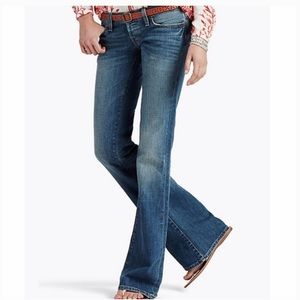 Lucky Brand 6/28 Dungarees Low Rise Bootcut Jean